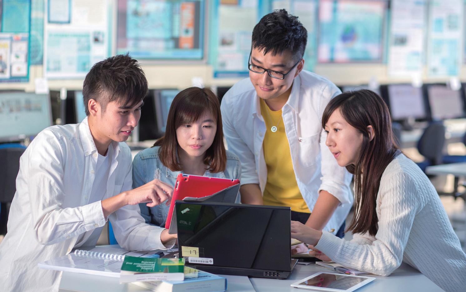 學系集工程學、資訊科 技、市場學及商業管理 於一身,學生將知識融 會貫通,工作前景亮麗。