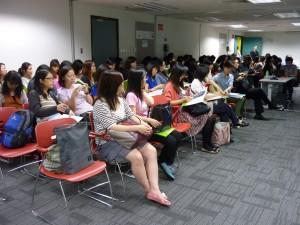 參加者投入參與是次講座