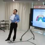 救恩學校馮耀章副校長分享使用經驗