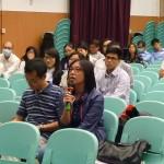老師踴躍向講者作出提問