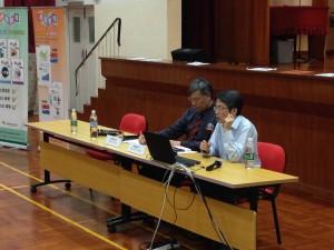 劉進圖先生講解韓國文化