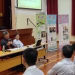 何滿添先生提出今年通識教育試卷二給劉進圖先生分析作答