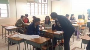 講師解答教學助理老師的問題