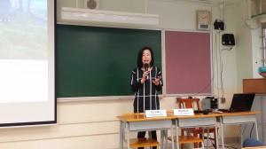 何玉芬博士(香港輔導教師協會榮譽顧問)